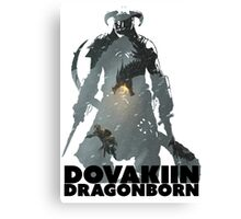 Dovakiin/Dragonborn Art Decal Canvas Print
