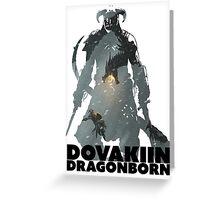 Dovakiin/Dragonborn Art Decal Greeting Card