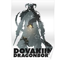Dovakiin/Dragonborn Art Decal Poster
