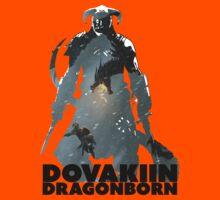 Dovakiin/Dragonborn Art Decal Kids Tee