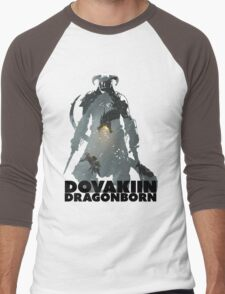 Dovakiin/Dragonborn Art Decal Men's Baseball ¾ T-Shirt