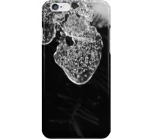 Icecles in the garden  iPhone Case/Skin