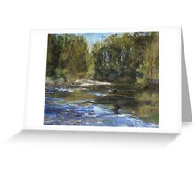 Wilson River 1 - paint out Greeting Card