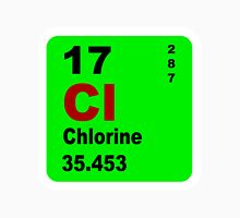 Chorine Periodic Table of Elements Unisex T-Shirt