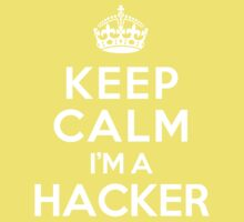 Keep Calm I'm a Hacker Kids Clothes