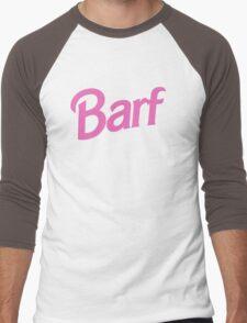 #BARF, Inspired by Barbie logo Men's Baseball ¾ T-Shirt