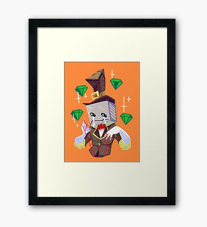 Hatty Framed Print