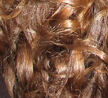 Hairscape - Shiny Auburn Hair by ClothoTwine
