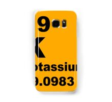 Potassium Periodic Table of Elements Samsung Galaxy Case/Skin