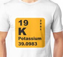 Potassium Periodic Table of Elements Unisex T-Shirt