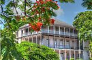 Old Annex of the Royal Victoria Hotel in Shirley Street - Nassau, The Bahamas by Jeremy Lavender Photography