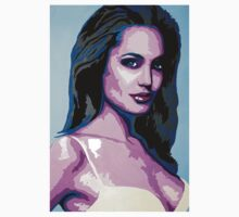 Abstract Angelina Jolie | 2015 T-Shirt