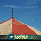Carousel Top and Moon by Colleen Drew