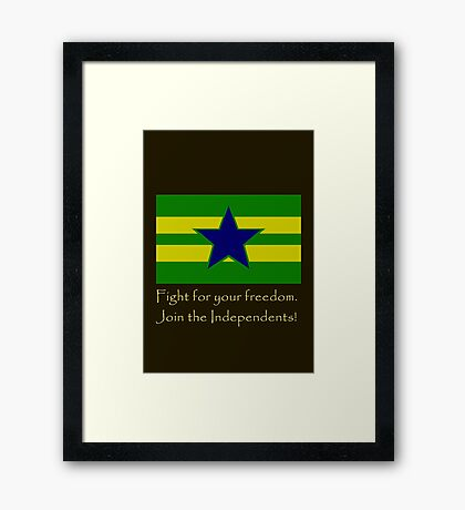 Firefly- Independents Framed Print