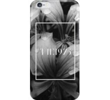 black and white flowers - the 1975 iPhone Case/Skin