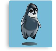 Cute Penguin Design Canvas Print
