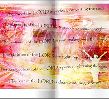 Conversion of the Soul (Psalm 19) by Olga