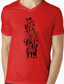 I can see it, hope - Hand Mens V-Neck T-Shirt