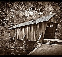 The Pisgah Covered Bridge by Christine Annas