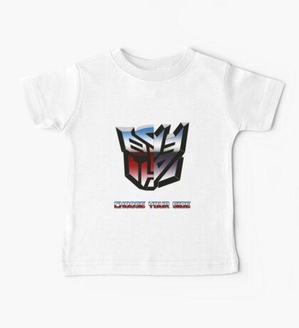 Transformers- Autobot/Decepticon Baby Tee
