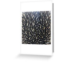 Spikey Greeting Card