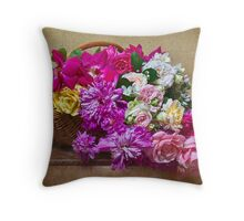 Early June Profusion Throw Pillow