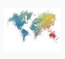 World Map splash 1 Kids Clothes