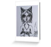 Foxy (Kitsune) Greeting Card