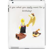 Best Birthday Present Ever iPad Case/Skin