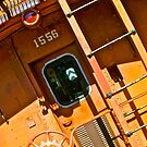 Number 1556 by locomotive