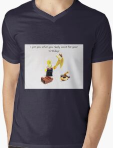 Best Birthday Present Ever Mens V-Neck T-Shirt