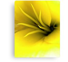 This Lily Likes Yellow Canvas Print