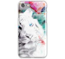 White tiger iPhone Case/Skin