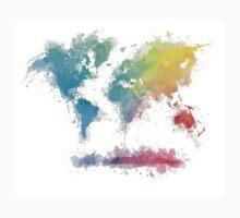 World Map splash 2 Kids Clothes