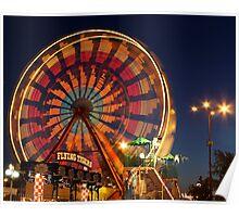 The Ferris Wheel of Lights  Poster