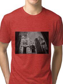 Black & White Beauty Tri-blend T-Shirt