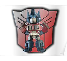3D Prime And Backdrop Poster
