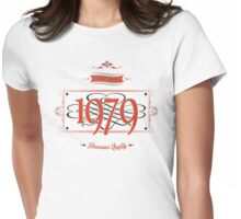 Since 1979 (Red&Black) Womens Fitted T-Shirt