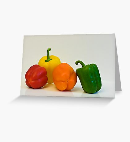 Multi Colored Greeting Card