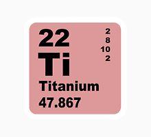 Titanium Periodic Table of Elements Unisex T-Shirt