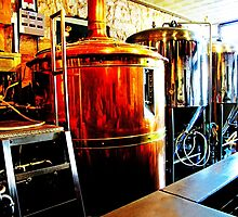 Shiny Vats by Susan Werby