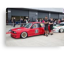 The Silverstone Classic  Cars 2015 Canvas Print