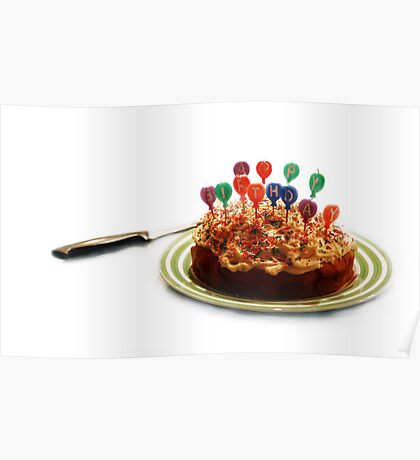 """""""Appy Birthday"""" - Celebrate differently Poster"""