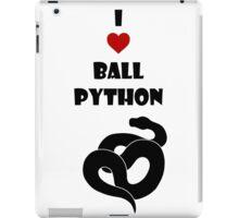 I ♥ Ball Python iPad Case/Skin