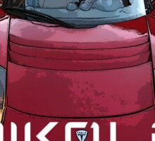 Nikola Tesla on the Road Sticker