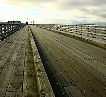 Bridge To North Bull Island, Dublin, Ireland by Joseph Kutinsky