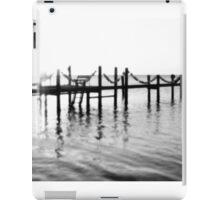 Black and white sunset iPad Case/Skin
