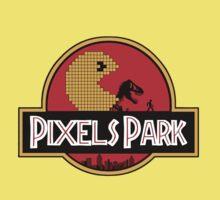 Pixels Park One Piece - Short Sleeve