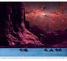 First Peoples in the Canyon de Chelly by Randy Shields