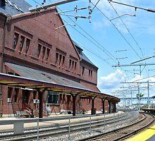 Historic New London Union Station - Track 2 by Jack McCabe